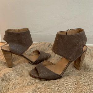 Lucky Brand cut out heels